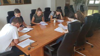 Photo of Konstituirajuća sjednica Savjeta mladih Grada Vrlike