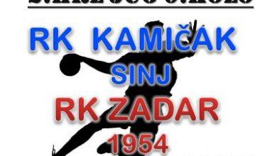 Photo of RK Kamičak – RK Zadar 1954 subota 19,30 sati