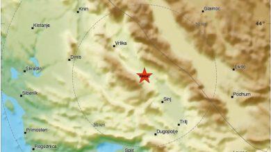 Photo of Jutrošnji potres uplašio sinjane