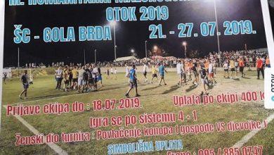 "Photo of Memorijalni turnir ""Otok 2019"""