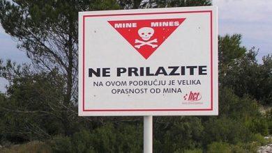 Photo of Obavijest građanstvu o razminiranosti na području Otišića