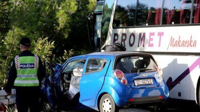 Photo of Tragična prometna nesreća na staroj kliškoj cesti: sudarila se dva autobusa i automobil, jedna osoba preminula, osam ih je ozlijeđeno