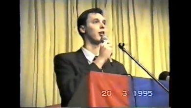 """Photo of Na današnji dan, 20. ožujka 1995. godine u okupiranoj Glini Vučić """"Ovo je Srbija"""""""