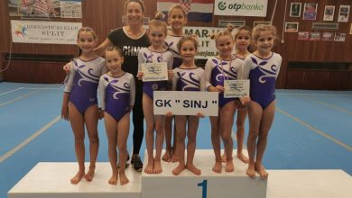 Photo of Odličan nastup sinjskih gimnastičara