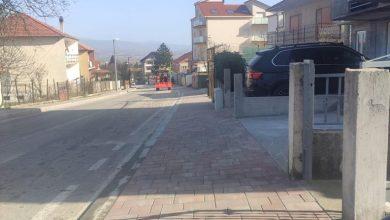 Photo of Završena izgradnja nogostupa u ulici Put Odrine