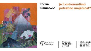 Photo of Najava izložbe Zorana Šimunovića u Galeriji Sikirica