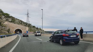 Photo of [FOTO] – Prometna nesreća na brzoj cesti