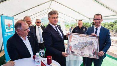 Photo of Premijer Andrej Plenković otvorio radove izgradnje najvećeg trening kompleksa za vatrogasce u ovom dijelu Europe u Vučevici