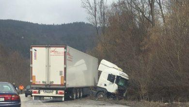Photo of Zatvorena D1 prema Kninu – Zagreb, kamion udario u dio ceste koji se obnavlja