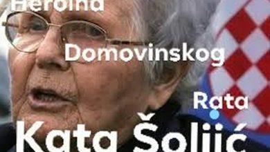 Photo of Na današnji dan 2008. umrla Kata Šoljić – Hrvatska majka hrabrost