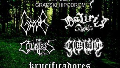 "Photo of Večeras ""Nebesa fest"" – koncert metal glazbe na Sinjskom hipodromu"