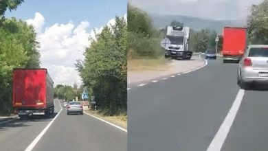 "Photo of [VIDEO ] – ""po život opasan"" kamion prošao kroz Sinj"