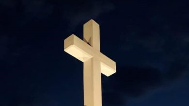 Photo of Od sinoć svijetli križ na Visokoj