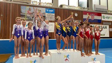 Photo of Sinjske gimnastičarke na 1. kolu kvalifikacija regije Jug za Prvenstvo Hrvatske.