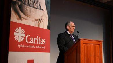 Photo of Župan Boban na proslavi 50 godina djelovanja Caritasa Splitsko-dalmatinske nadbiskupije