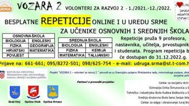 Photo of U udruzi SRMA besplatne repeticije za učenike
